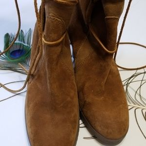 UGG Shoes - UGG 'ELSEY' LACE UP TALL BOOT size 10